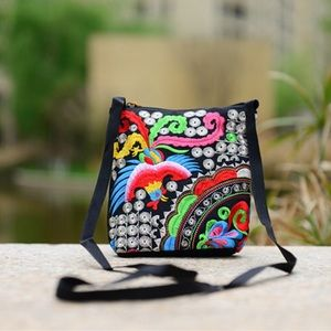 Handbags - Just In! Ethnic Boho Handmade Embroidery Bag